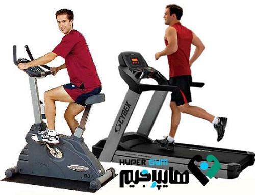 تردمیل و دوچرخه نه فقط برای ورزش بلکه برای تسکین درد!