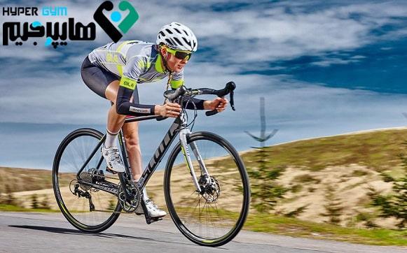 تقویت عضلات با دوچرخه سواری