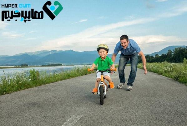 چگونه دوچرخه سواری را بیاموزیم؟