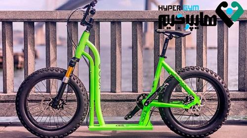 موکس تلفیقی از دوچرخه و اسکوتر!