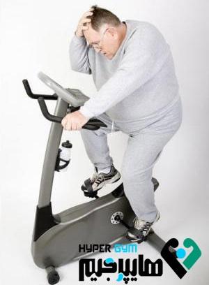 برای کاهش وزن به سراغ دوچرخه ثابت بروید!
