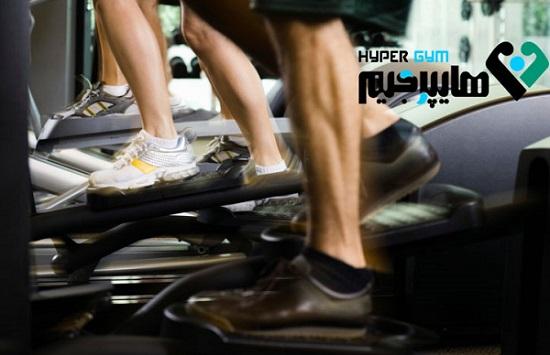 تاثیر الپتیکال بر عضلات پا