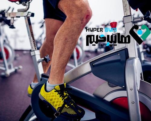 دوچرخه ثابت و فشار کم بر مفاصل