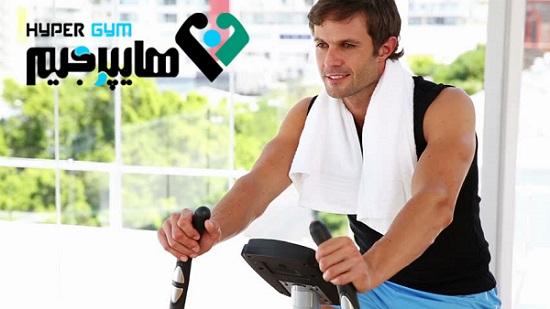 ورزش صبحگاهی با دوچرخه ثابت